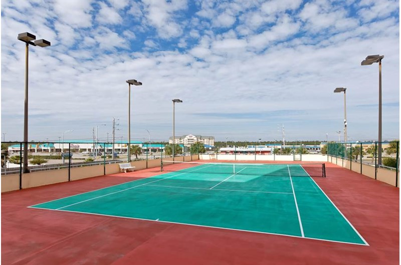 Play a round of tennis at The Enclave in Orange Beach AL