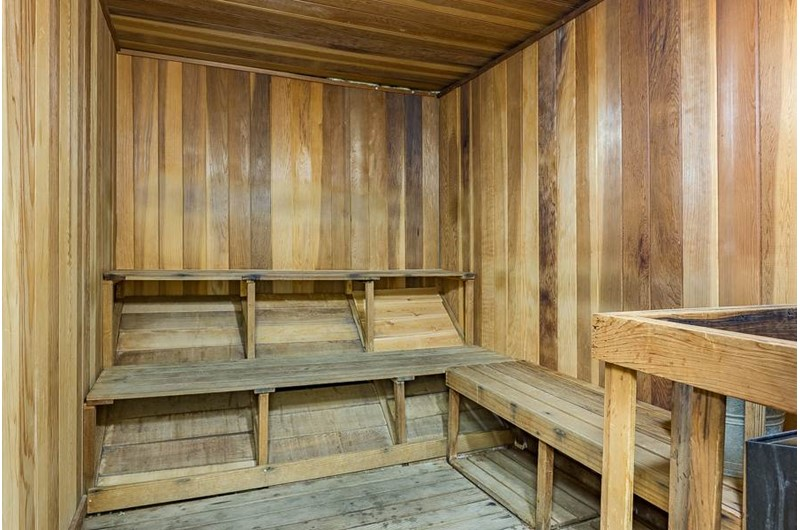 Treat yourself to some time in the sauna at The Palms Orange Beach.