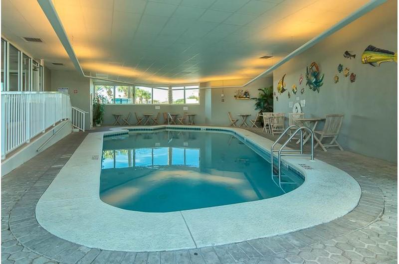 Indoor pool at The Pass in Orange Beach Alabama