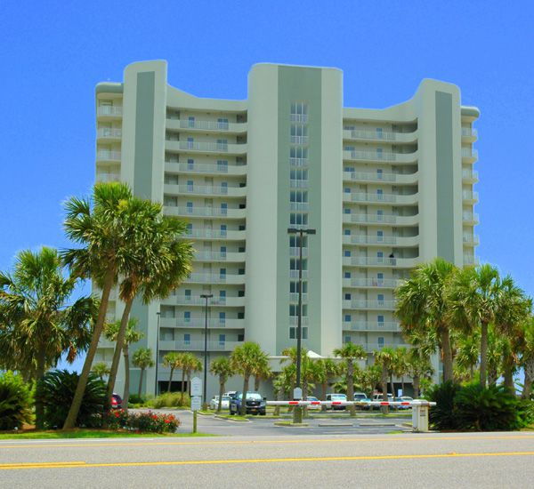 Exterior View From The Street At Tidewater In Orange Beach Alabama