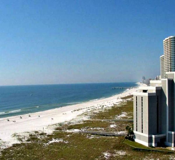 Gorgeous Gulf view at Tidewater Orange Beach Alabama