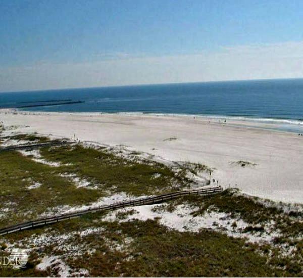 Panoramic Gulf view at Tidewater Orange Beach Alabama
