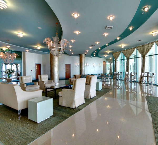 Lobby of Turquoise Place - Orange Beach Alabama
