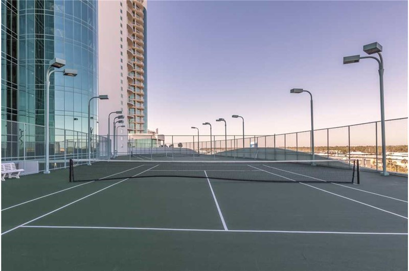 Enjoy a round of tennis at Turquoise Place in Orange Beach AL