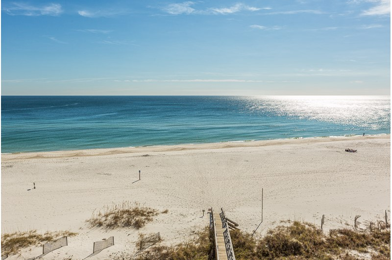 Awesome view from Windward Pointe Condominiums in Orange Beach Alabama