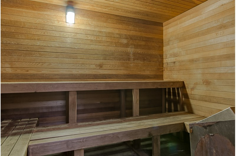 Great sauna at Windward Pointe Condominiums in Orange Beach Alabama