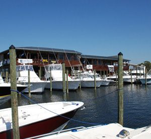 Oyster Bar Marina in Perdido Key Florida
