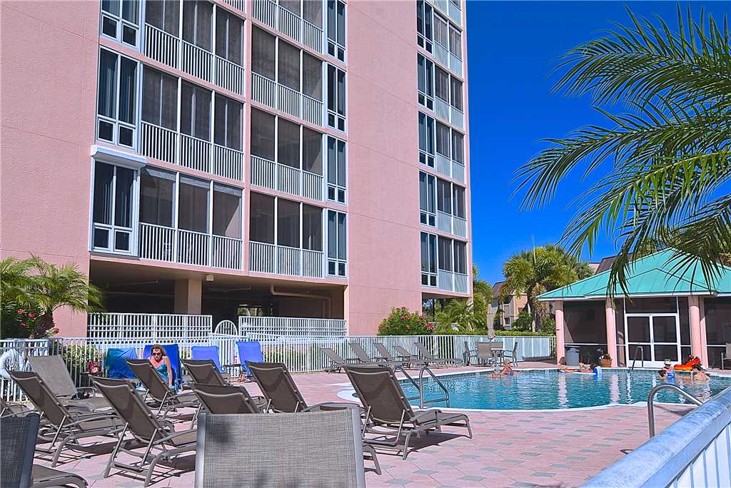 Palm Harbor 802W 2 Bedrooms 8th Floor Elevator Pool  WiFi Sleeps 6 Condo rental in Palm Harbor Condos in Fort Myers Beach Florida - #24