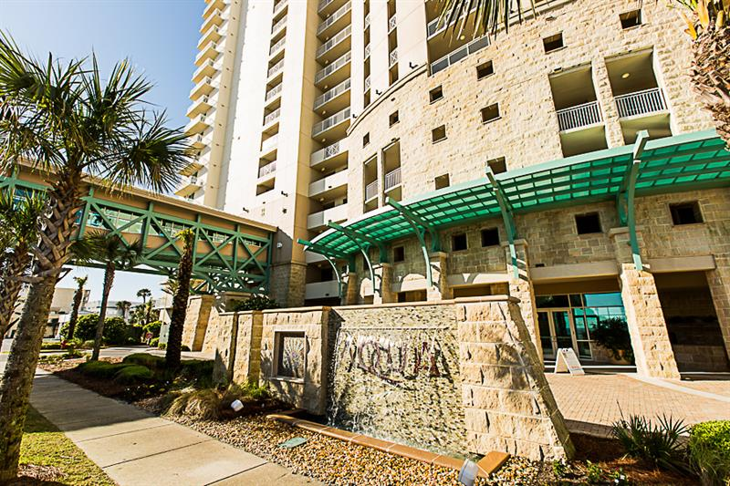 Aqua in Panama City Beach Florida is directly on the Gulf