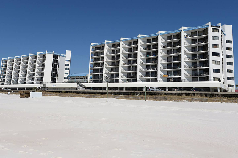 Aquavista in Panama City Beach Florida is directly Gulf front