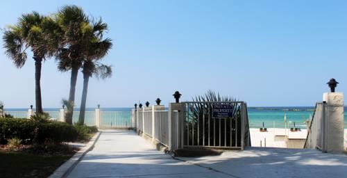 Crosswalk from Beachside Resort in Panama City Beach FL