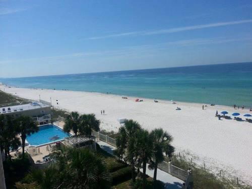 Nice view of the water from Beachside Resort in Panama City Beach FL