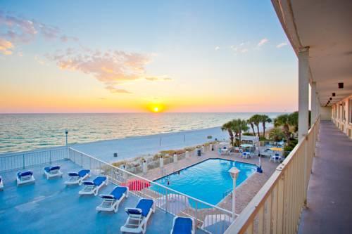 Gorgeous sunset from Beachside Resort Panama City Beach in Panama City Beach FL