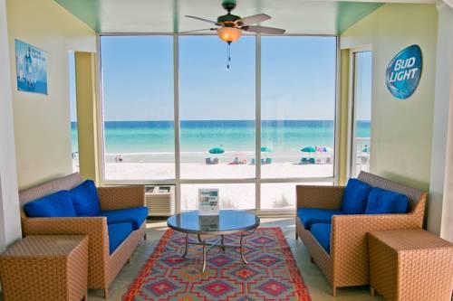 The lobby at Beachside Resort Panama City Beach in Panama City Beach FL