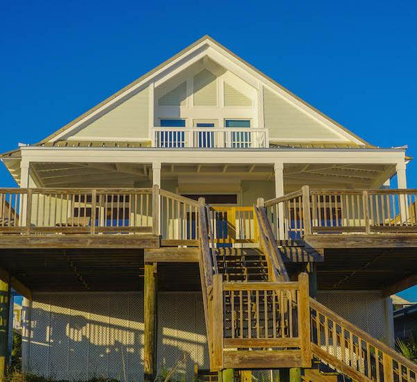 Beachfront house Bikini Beach in Panama City Beach FL