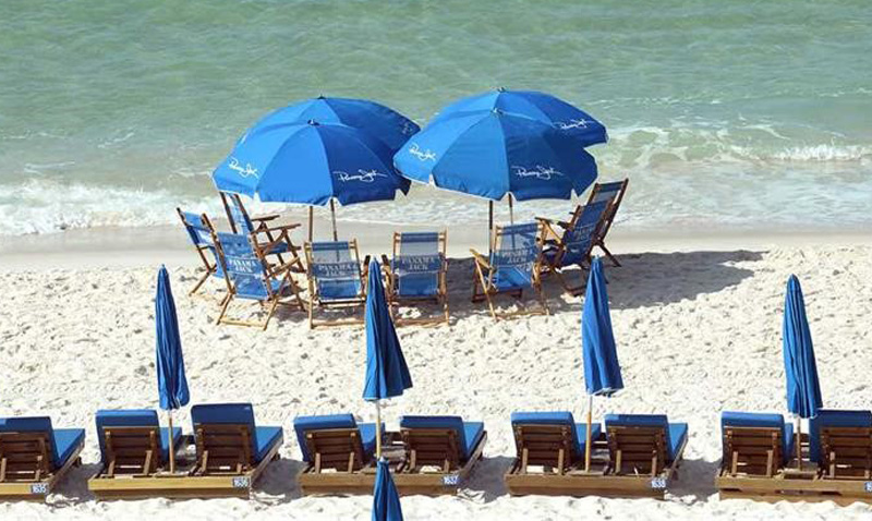 Gather the entire family on the beach by the Gulf at View of Calypso in Panama City Beach Florida from the GulfView of Calypso in Panama City Beach Florida from the Gulf at Calypso Beach Resort in Panama City Beach FL