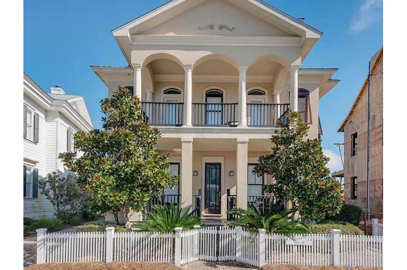 One of many homes at Carillon Beach House Rentals in Panama City Beach FL
