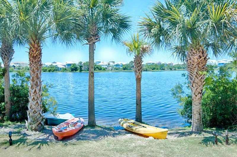 Spend the day kayaking on the lake at  Carillon Beach Resort Inn