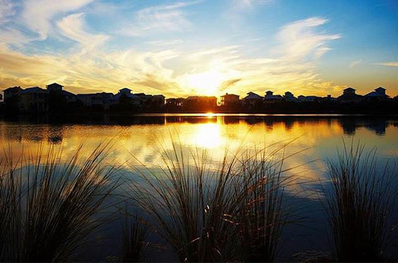 Amazing sunset at  Carillon Beach Resort Inn