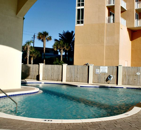 Enjoy a swim at Celadon Beach Resort   in Panama City Beach Florida