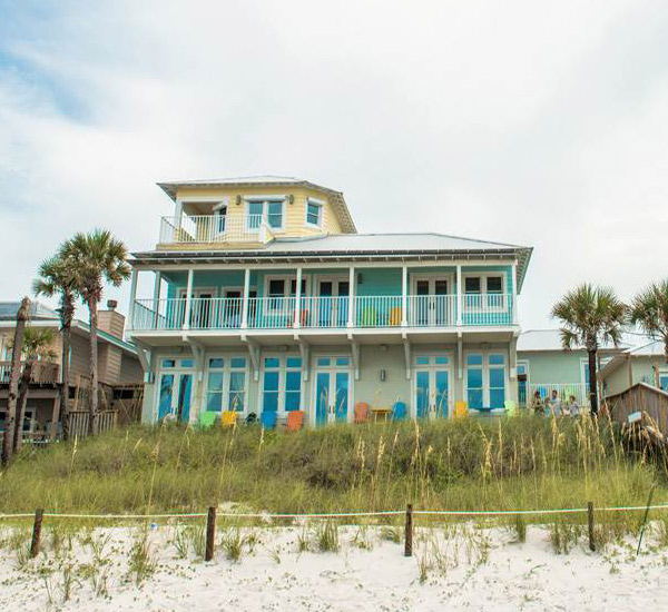 Coastal Commodity beachfront home in Panama City Florida