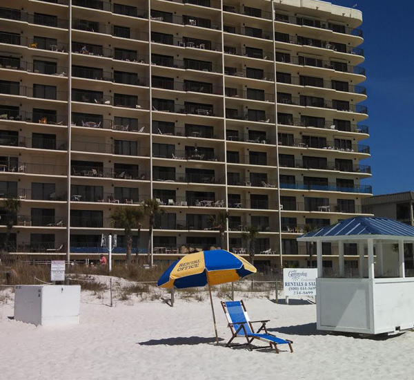 Commodore Condos in Panama City Beach Florida