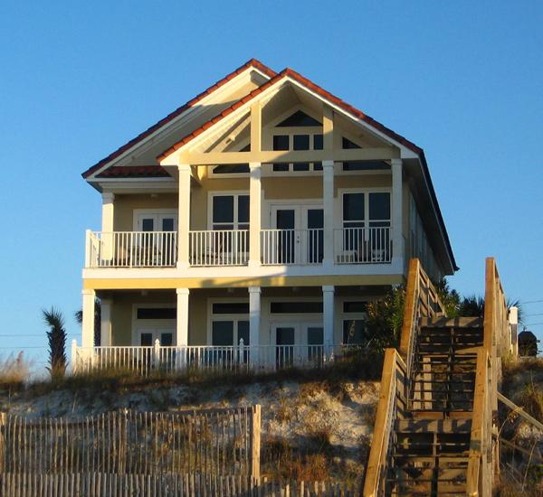 Beach House Rentals In Panama City Beach: 9 Bedroom Beachfront Home