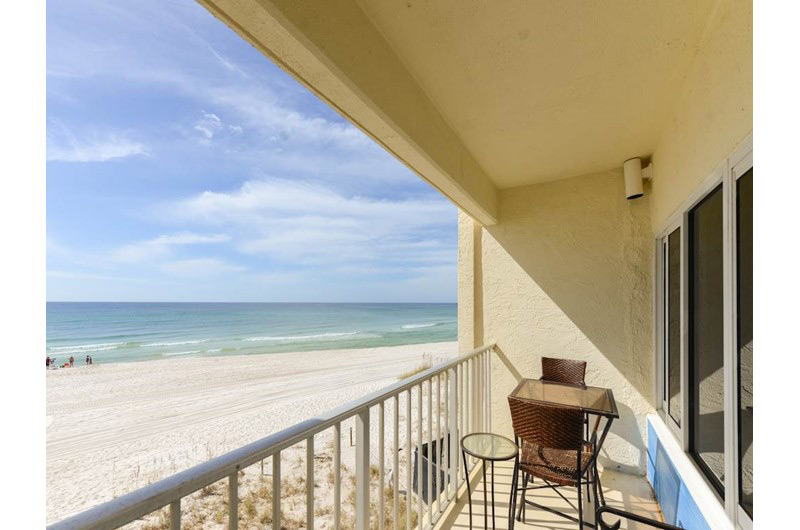 Balcony of Continental Condos in Panama City Beach FL