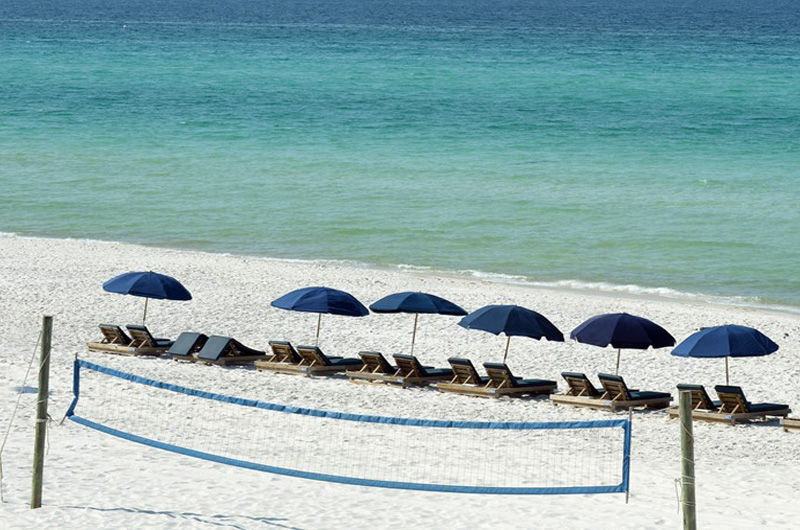 The Gulf and beach are just steps from you unit at Continental Condominiums in Panama City Beach Florida