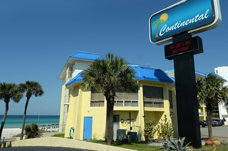 Continental Condominiums in Panama City Beach Florida