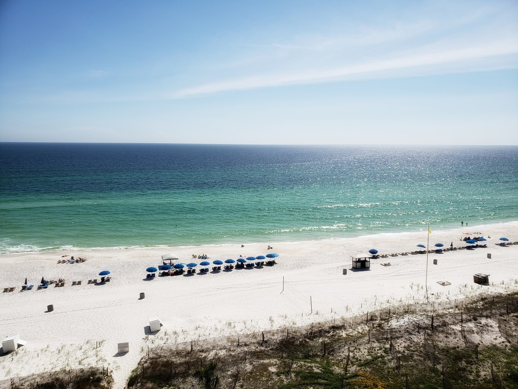Fabulous view from Coral Reef in Panama City Beach FL