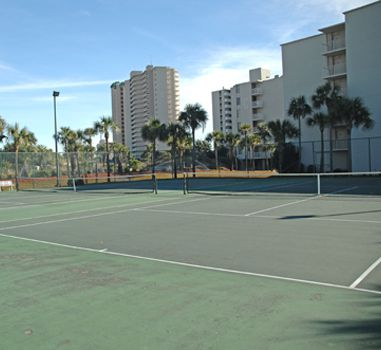 Tennis courts at Dunes of Panama