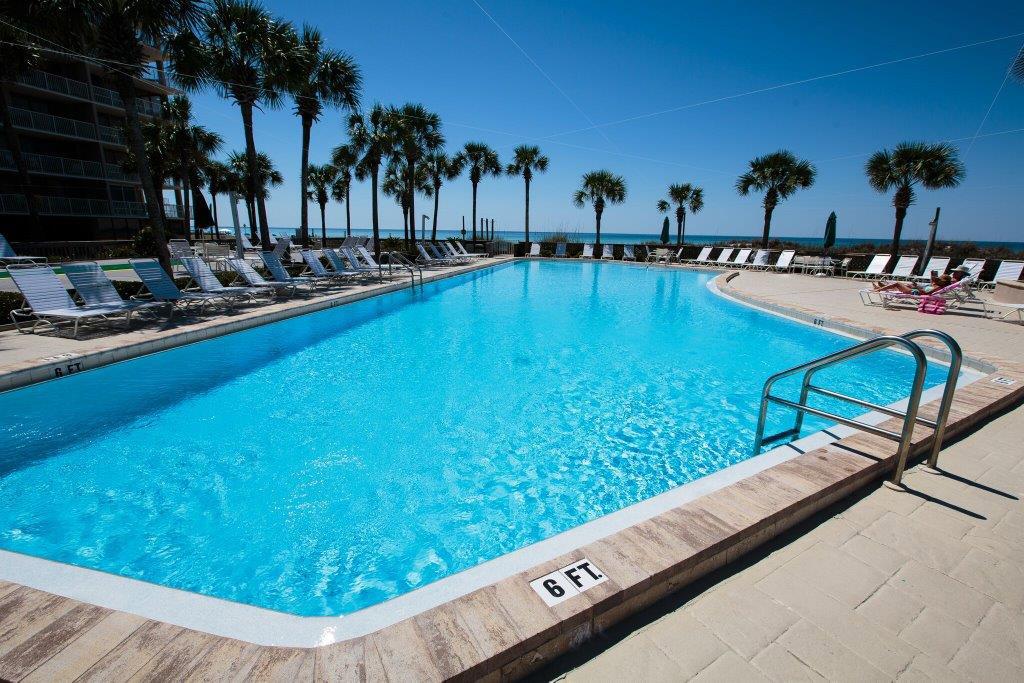 Gorgeous pool at Dunes of Panama in Panama City Beach FL