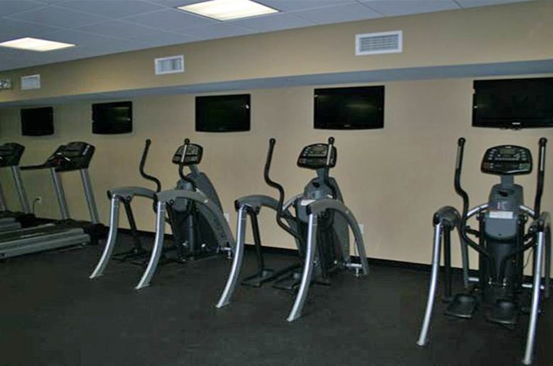 Get your workout at Emerald Beach Resort in Panama City Beach FL