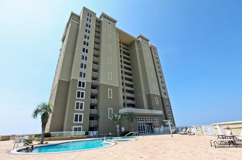 view of Grand Panama Beach Resort in Panama City Beach FL