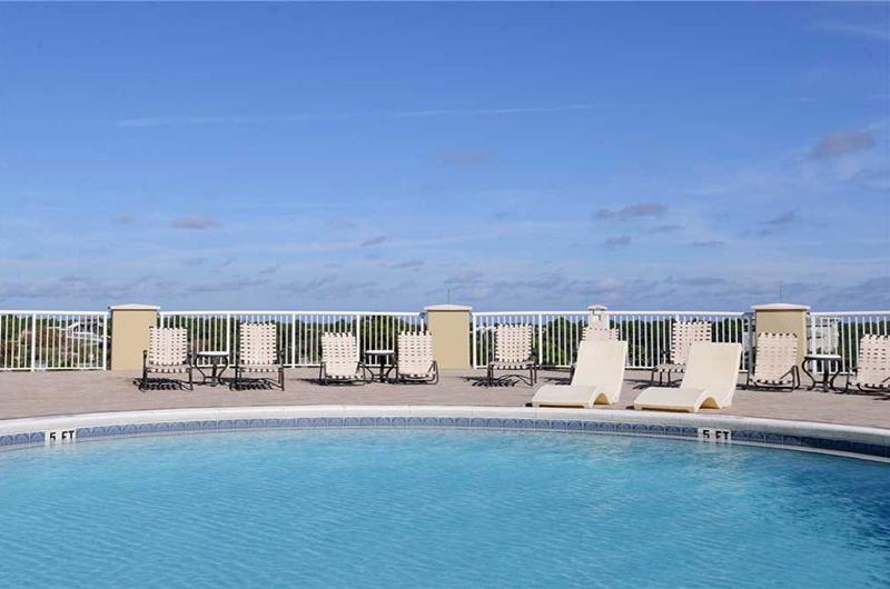 Large pool to take a dip in at Grand Panama Beach Resort in Panama City Beach FL