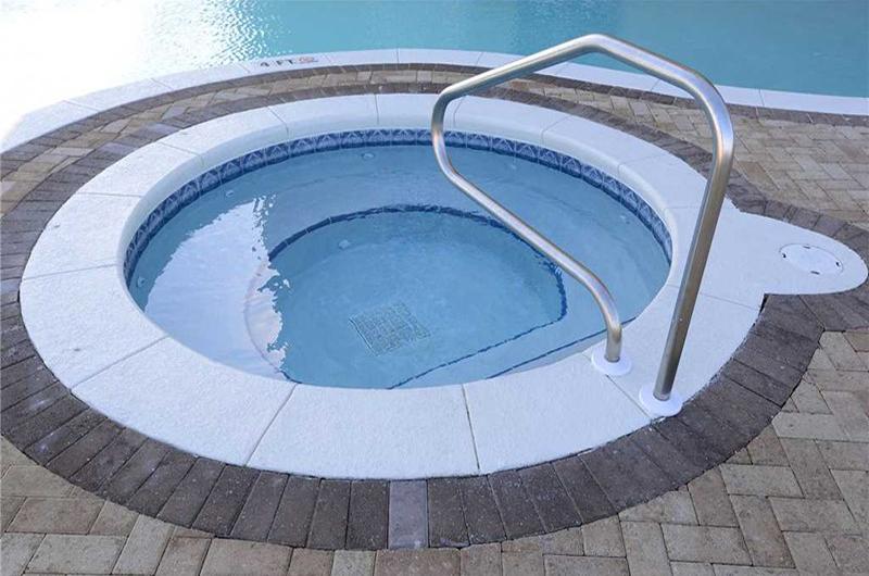 Large hot tub to enjoy at Grand Panama Beach Resort in Panama City Beach FL