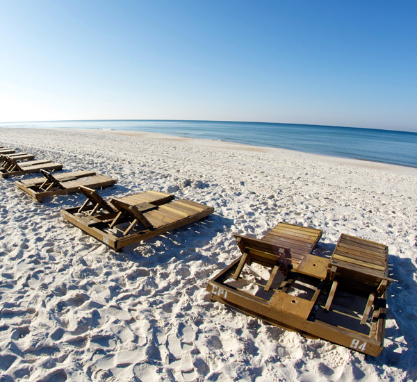Relax on the beach at Grandview East Resort in Panama City Beach Florida