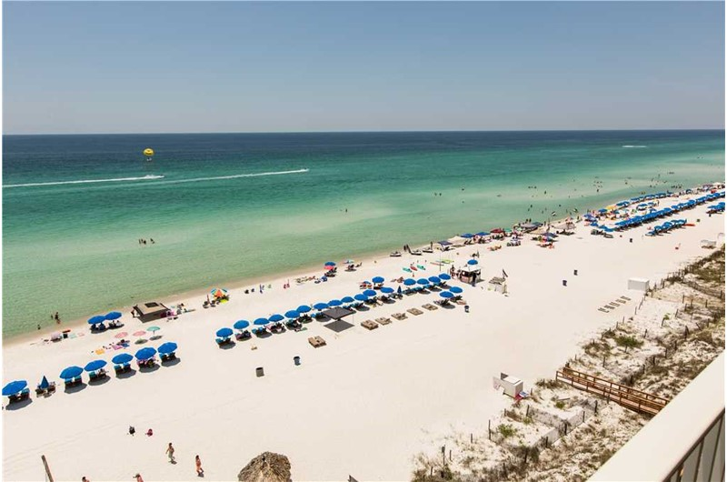 Enjoy the lovely view from Grandview East Resort in Panama City Beach Florida