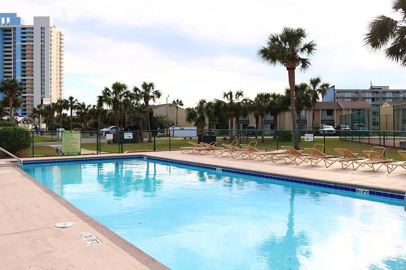 Nice pool to relax in at Gulf Highlands Panama City Beach Florida