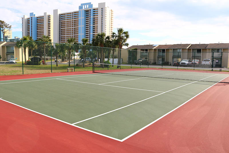 Play a round of tennis at Gulf Highlands Panama City Beach Florida