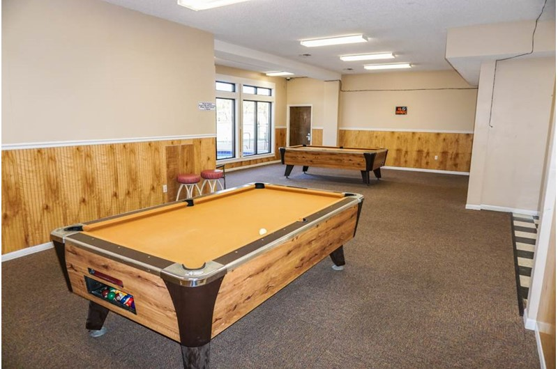 Have fun in the game room at Horizon South in Panama City Beach Florida
