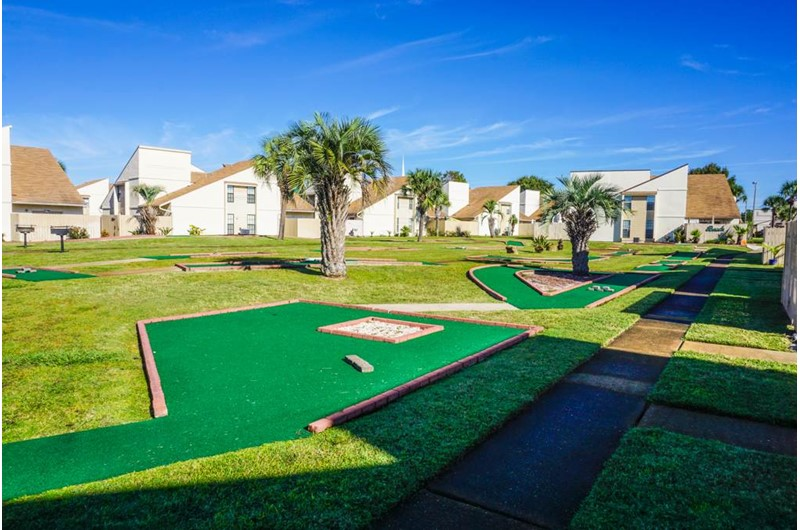 Enjoy a round of Putt Putt at Horizon South in Panama City Beach Florida