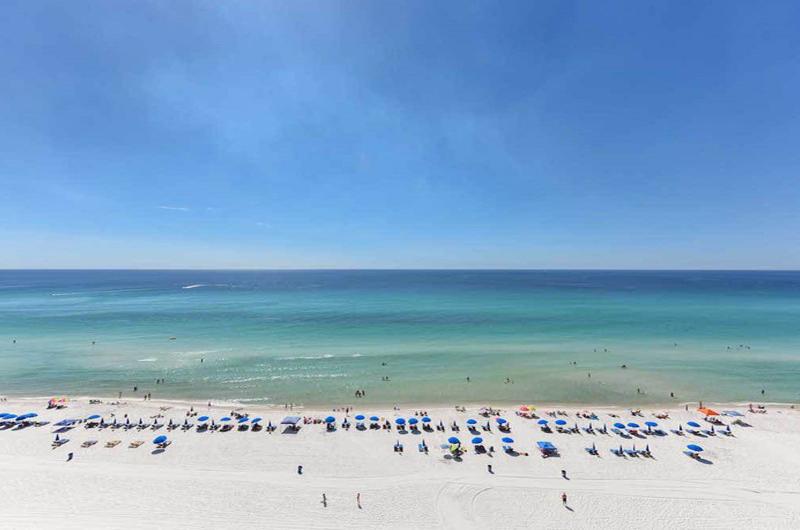 Stunning view of the Gulf waters from Long Beach Resort Panama City Beach FL