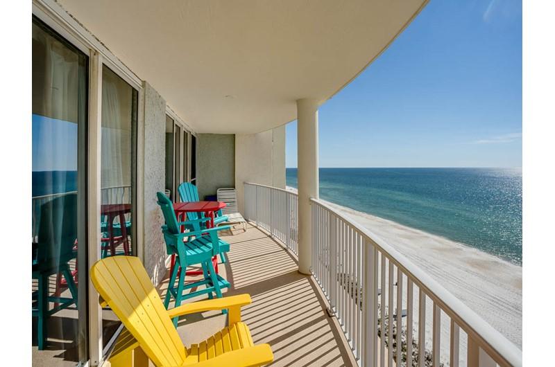 Stunning view of the Gulf from Long Beach Resort Panama City Beach FL
