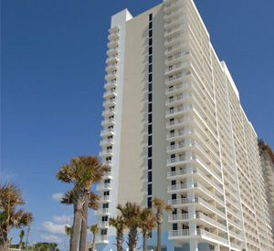 Exterior view of Majestic Beach Resort in Panama City Beach FL