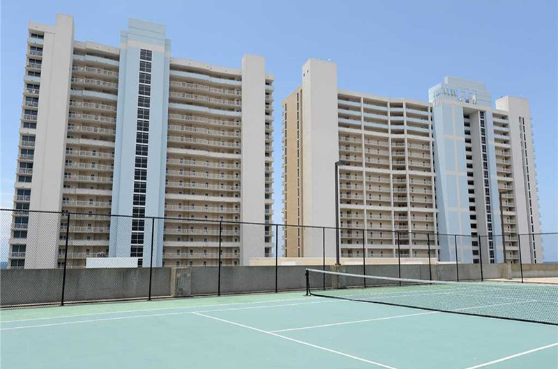Play a round of tennis at Majestic Beach Resort in Panama City Beach FL