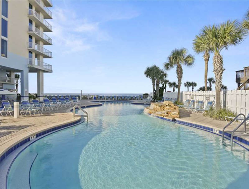 This pool will amaze you at Majestic Beach Resort in Panama City Beach FL