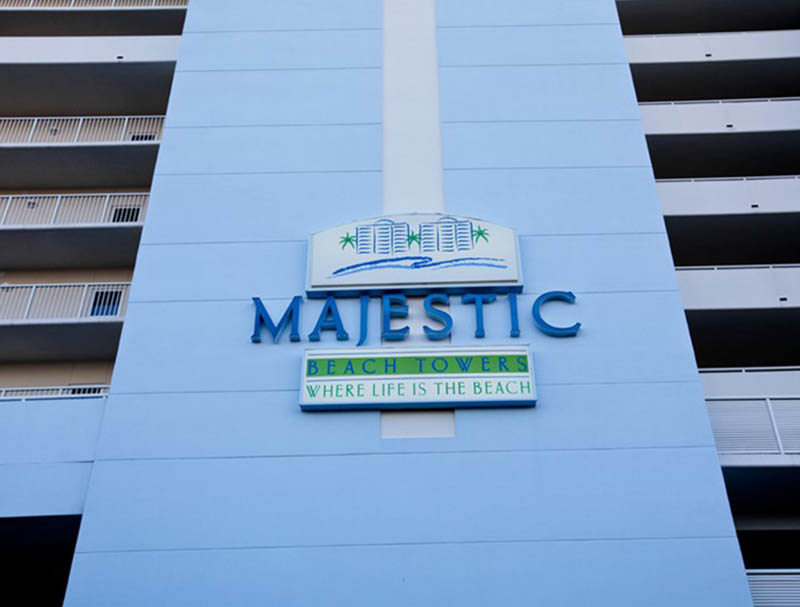 Majestic Beach Resort in Panama City Beach FL