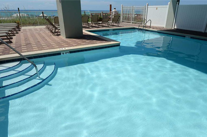 Wonderful pool to dip your toes in at Marisol in Panama City Beach Florida